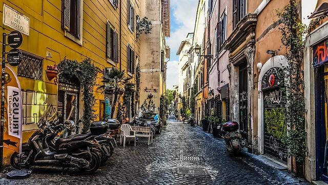 שווקים לדוגמה ברומא